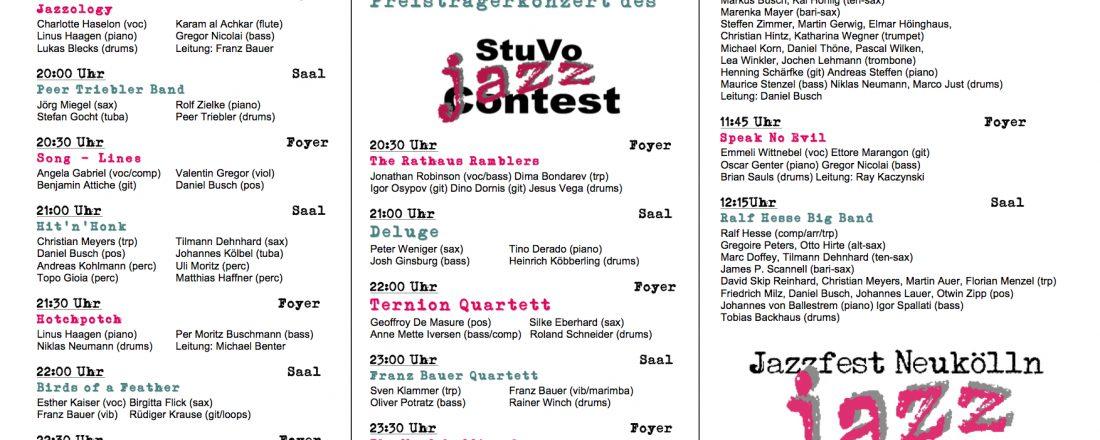 Jazzfest 2017 Programm copy